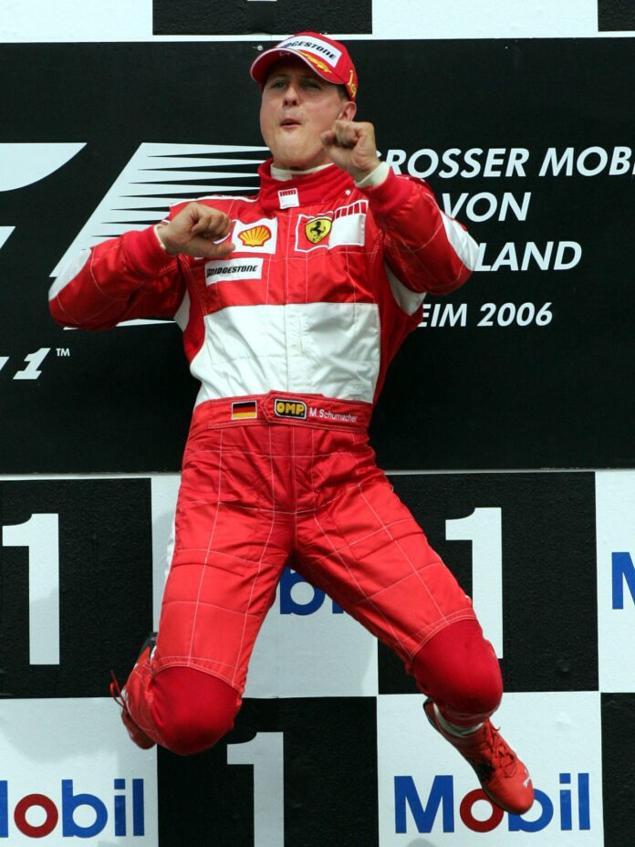 Michael Schumacher. Source: Sky Sports