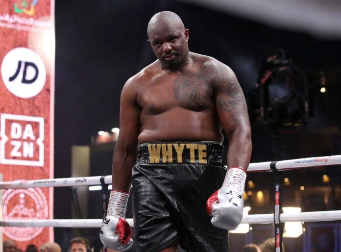 Dillian Whyte. Source: The Independent