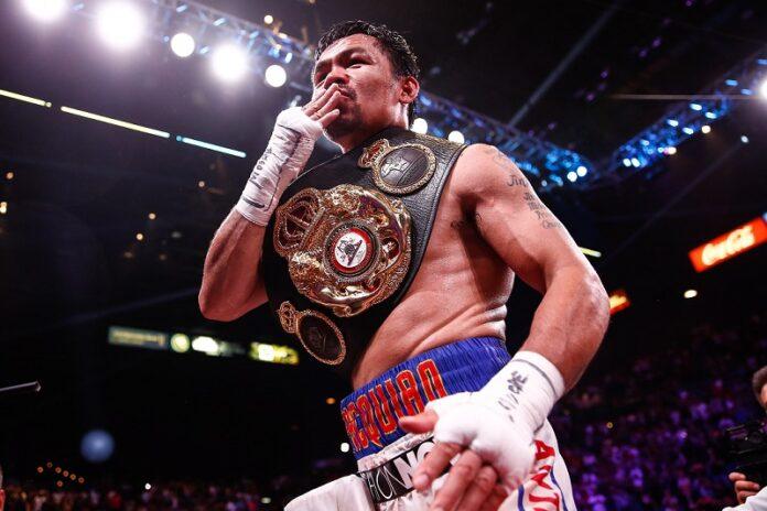 Manny Pacquiao. Source: World Boxing News.