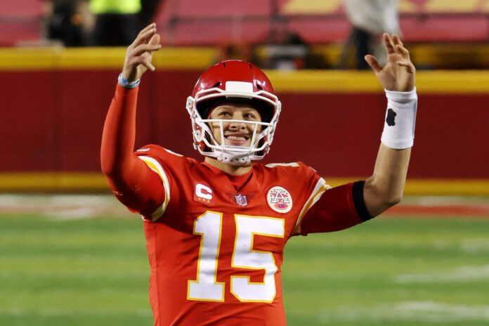 Patrick Mahomes. Source: Jamie Squire/Getty Images