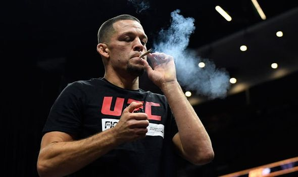 Nate Diaz. Source: The Daily Express