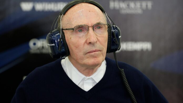 Frank Williams. Source: The F1 News.