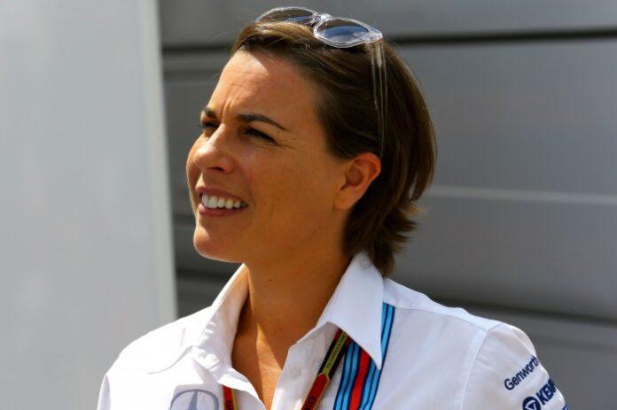 Claire Williams. Source: Formula 1