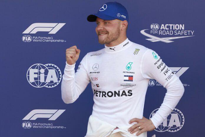 Valtteri Bottas. Source: Formula1