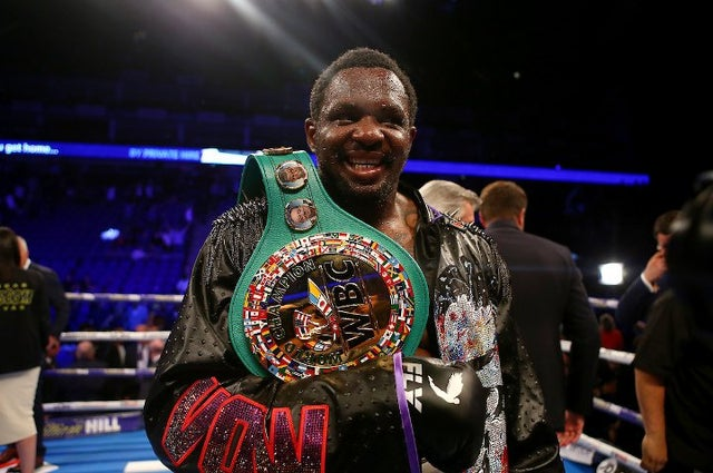 Dillian Whyte. Source: Reuters